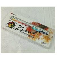 晨光文具新款毕加索美术画材中国画12色颜料学生环保绘画