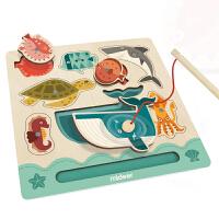 ��鹿(mideer)蒙氏磁力��~板��~玩具磁性喜帖木�|拼版早教益智1�⒚捎��2智力�_�l3�q�����和�