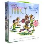 正版进口 漂亮的南希6册礼盒装 英文原版 Fancy Nancy Take-Along 6 Book 游戏活动书 英文