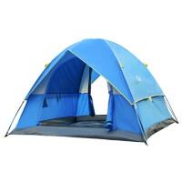 户外帐篷双人双层3-4人多人野营防雨帐篷