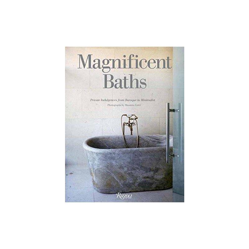 【预订】Magnificent Baths: Private Indulgences from Baroque to Mini... 9780789334121 美国库房发货,通常付款后3-5周到货!