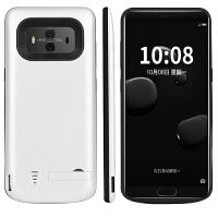 华为Mate10背夹电池 华为MT10移动电源手机壳无线充电器大容量毫安充电宝 mate10 -纯洁白