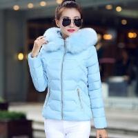 中年女棉衣女冬装短款棉袄子冬天外套30羽绒35到40岁50岁