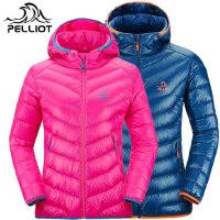 【年货盛宴】法国PELLIOT/伯希和 户外羽绒服 男女 轻薄保暖羽绒衣 透气白鸭绒外套