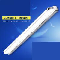 镜前灯led 免打孔浴室卫生间化妆灯镜灯壁灯北欧简约现代镜柜灯n8o