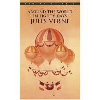 英文原版小说 八十天环球旅行 Around the World in Eighty Days 全英文版 经典文学名著 进