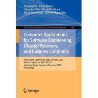 【预订】Computer Applications for Software Engineering, Disaste