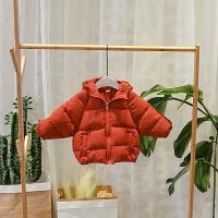 ����棉衣男1一2-3�q��憾�加厚秋冬季款女小童�B帽棉�\�和�男