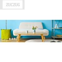 ZUCZUG日式简约小户型布艺沙发田园客厅阳台咖啡厅单人双人小沙发椅