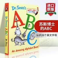 正版英文原版绘本 苏斯博士的神奇字母书Dr. Seuss's ABC An Amazing Alphabet Book