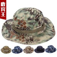 迷彩帽平顶帽子迷彩帽子男特种兵作训帽遮阳圆边帽男帽奔尼帽