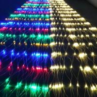 户外防水led彩灯闪灯串灯满天星网灯渔网灯节日亮化婚庆布置彩灯