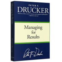 成果管理 英文原版 Managing for Results 全英文版 管理学大师彼得德鲁克Drucker 管理的实践