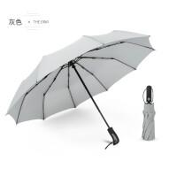 【支持礼品卡】全自动伞雨伞加固抗风十骨男女商务伞创意超大晴雨两用折叠广告伞jr6