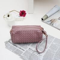 女士包包款编织迷你手拿包单肩斜挎包手机包零钱包潮手包小包