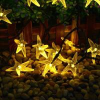太阳能灯串LED彩灯闪灯串灯满天星户外星星灯庭院花园树灯装饰灯