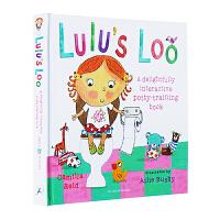 英文原版 Lulu's Loo 露露上厕所 精装操作书 如厕训练认知操作书3-5岁 幼儿启蒙操作书绘本