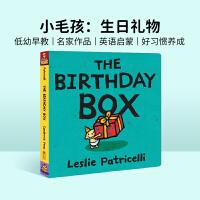 进口原版The Birthday Box 生日礼物 培养宝宝行为习惯 纸板书【2~5岁】