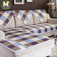 木儿家居 组合沙发垫坐垫贵妃椅沙发座垫 单双三四座 衍缝布艺田园垫子布艺