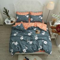 ???兔单人床单单件学生宿舍寝室男女被套被单三件套床上用品