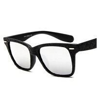 8515太阳镜男女时尚炫彩墨镜 精工雕刻花纹方框太阳眼镜
