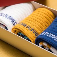 【1件7折:55.3元】暇步士童装儿童袜子吸汗舒适保暖冬季加厚礼盒包装3双男女童袜