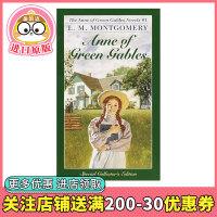 【预订】绿山墙的安妮 英文原版小说 Anne of Green Gables 红发安妮 经典故事小说 清秀佳人 儿童文学小说