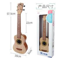 儿童吉他初学者可弹奏尤克里里男女孩21寸四弦卡通迷你音乐器玩具a288