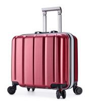 铝框拉杆箱万向轮18寸登机箱男士商务密码箱旅行箱包女行李箱子潮 18寸