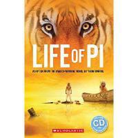 ELT Readers: 少年Pi的奇幻漂流(书+CD)The Life of Pi (Scholastic Reade
