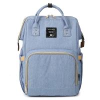妈咪包时尚韩版辣妈双肩包母婴包大容量多功能宝妈外出旅游背包