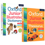 新版 Oxford Junior Illustrated Thesaurus Dictionary 牛津儿童图画图解词