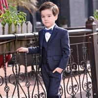 男童钢琴演出宝宝三件套儿童西装套装男孩小西服韩版花童礼服外套