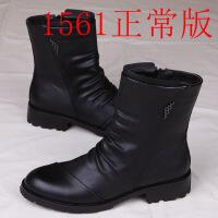 №【2019新款】马丁靴男靴子英伦皮靴男士韩版短靴工装靴高帮皮鞋男男鞋