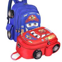 儿童汽车书包 幼儿园宝宝韩版男童双肩包小学生1-3-4-6岁一二年级