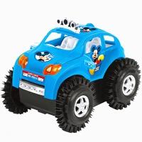 电动米奇翻斗车批发 儿童玩具特技车 创意小礼品礼物新奇地摊货源 抖音 不含电池