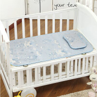亚麻草婴儿床凉席宝宝床 凉垫宝宝 坐垫 +枕头