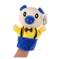 卡通动物手偶毛绒玩具手套娃娃幼儿园益智讲故事手指偶