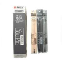 晨光 6007 中性笔芯优品 全针管 替芯0.35mm 黑色 一盒20支