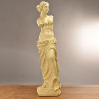 北欧雕塑女神欧式家居人物摆饰创意树脂工艺礼品摆件人像装饰摆件