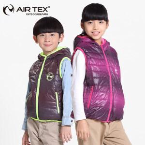 AIRTEX亚特轻便保暖加厚加棉秋冬男女儿童夹克马甲棉服外套