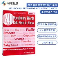 Vocabulary Words Kids Need to Know Grade 1级别 英文原版1年级孩子需要知道的
