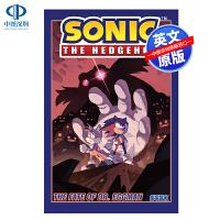 英文原版 刺猬索尼克第二卷:埃格曼博士的命运 Sonic The Hedgehog, Vol. 2: The Fate