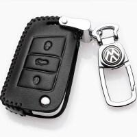 大众2018款迈腾B8途观L途昂速腾17款新帕萨特车真皮钥匙包套