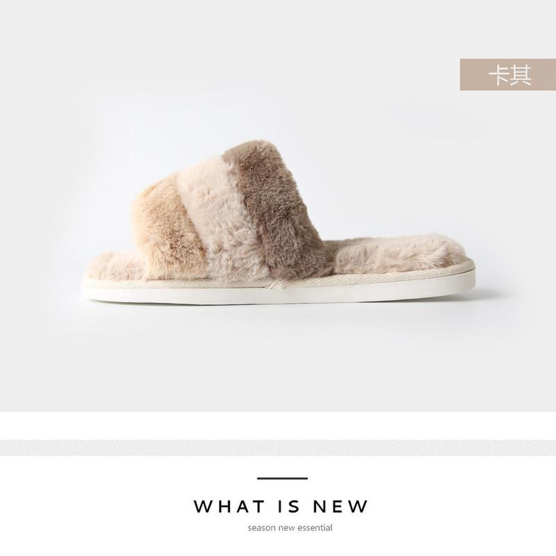 2018新款包跟棉拖情侣室内软底防滑静音保暖家居家用卧室棉拖鞋女