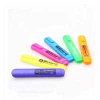 金万年 彩色荧光笔 6色萤光笔 卡通个性 标记笔 绘图笔G-0518T