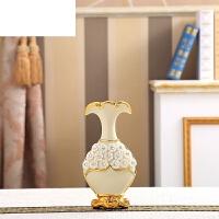 创意家居客厅餐桌电视柜工艺品欧式装饰品花瓶摆件陶瓷插花花器
