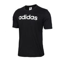 【新品上市】Adidas阿迪达斯 男装 运动休闲圆领跑步短袖T恤 DU0404