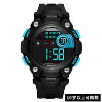儿童手表 男孩防水电子表 多功能夜光跑步运动中小学生手表