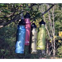 时尚户外运动水壶不锈钢保温杯登山健身水杯大容量便携自行车水壶